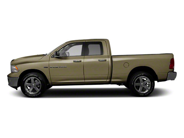 Sagebrush Pearl 2012 Ram Truck 1500 Pictures 1500 Quad Cab SLT 4WD photos side view