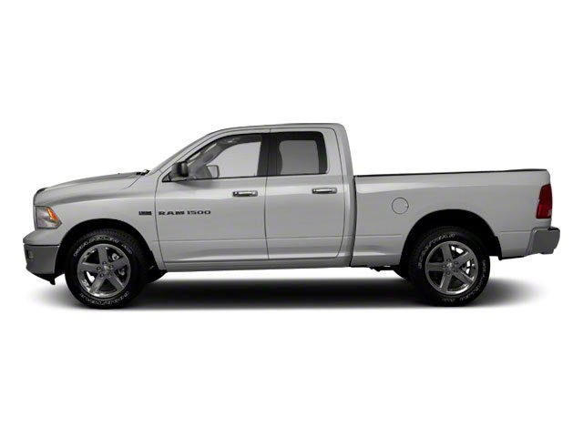 Bright Silver Metallic 2012 Ram Truck 1500 Pictures 1500 Quad Cab SLT 4WD photos side view