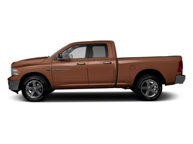Saddle Brown Pearl 2012 Ram Truck 1500 Pictures 1500 Quad Cab SLT 4WD photos side view