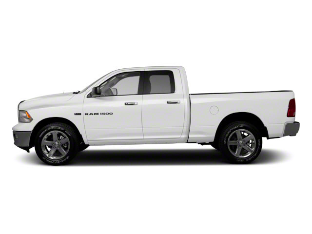 Bright White 2012 Ram Truck 1500 Pictures 1500 Quad Cab SLT 4WD photos side view