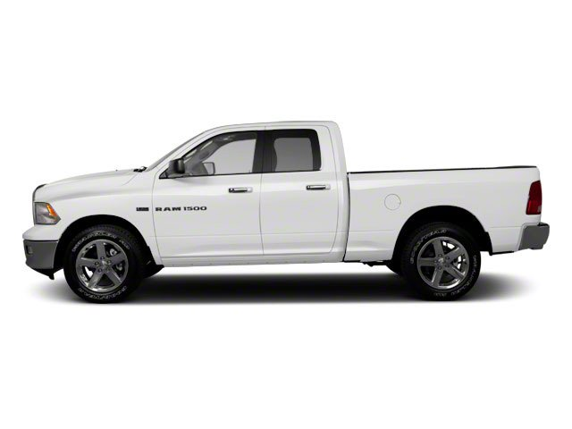 Bright White 2012 Ram Truck 1500 Pictures 1500 Quad Cab Tradesman 4WD photos side view