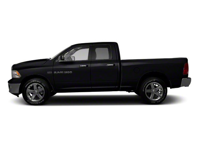 Black 2012 Ram Truck 1500 Pictures 1500 Quad Cab SLT 4WD photos side view