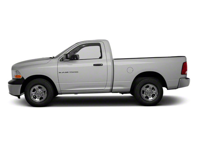 Bright Silver Metallic 2012 Ram Truck 1500 Pictures 1500 Regular Cab Express 4WD photos side view