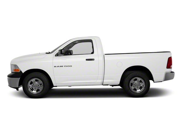 Bright White 2012 Ram Truck 1500 Pictures 1500 Regular Cab Express 4WD photos side view