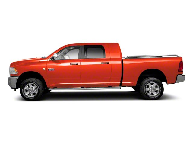 Omaha Orange 2012 Ram Truck 2500 Pictures 2500 Mega Cab SLT 4WD photos side view
