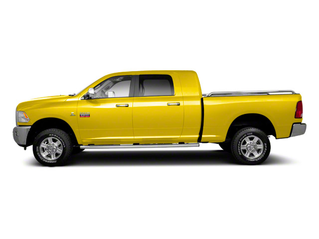 Yellow 2012 Ram Truck 2500 Pictures 2500 Mega Cab SLT 4WD photos side view