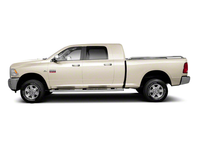 Light Cream 2012 Ram Truck 2500 Pictures 2500 Mega Cab Outdoorsman 4WD photos side view