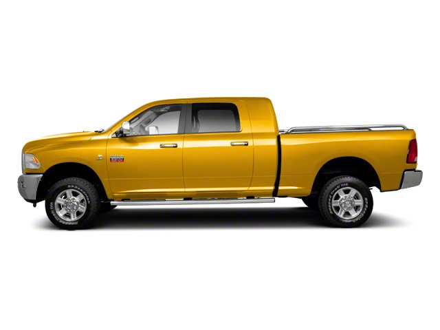 Case Construction Yellow 2012 Ram Truck 2500 Pictures 2500 Mega Cab SLT 4WD photos side view