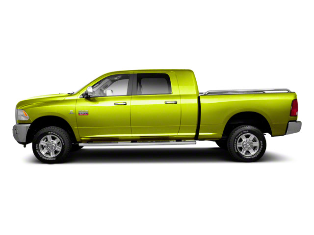 National Fire Safety Lime Yellow 2012 Ram Truck 2500 Pictures 2500 Mega Cab SLT 4WD photos side view