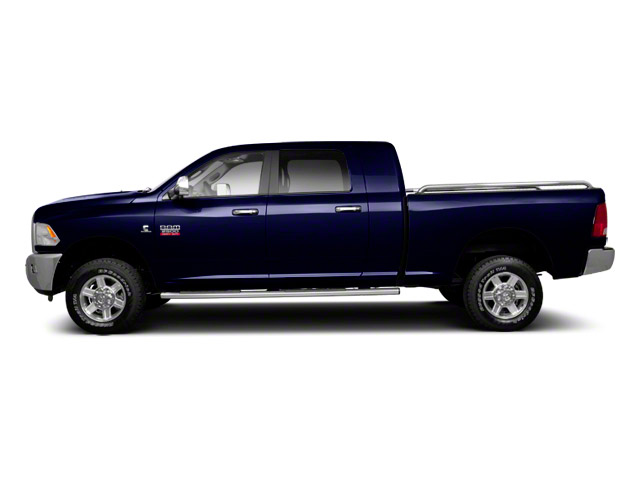 Midnight Blue Pearl 2012 Ram Truck 2500 Pictures 2500 Mega Cab SLT 4WD photos side view