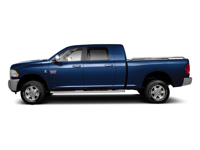 True Blue Pearl 2012 Ram Truck 2500 Pictures 2500 Mega Cab Outdoorsman 4WD photos side view