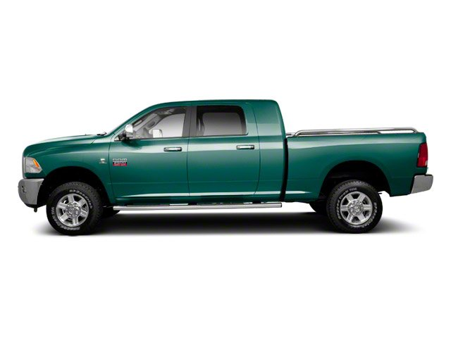 Light Green 2012 Ram Truck 2500 Pictures 2500 Mega Cab SLT 4WD photos side view
