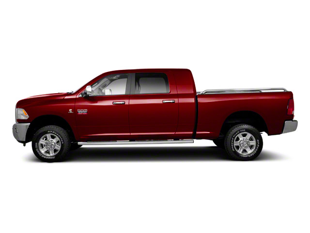 Deep Cherry Red Crystal Pearl 2012 Ram Truck 2500 Pictures 2500 Mega Cab Outdoorsman 4WD photos side view