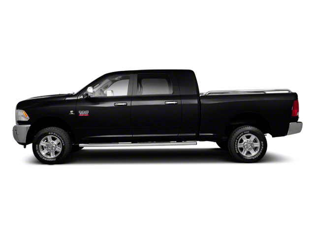 Black 2012 Ram Truck 2500 Pictures 2500 Mega Cab Outdoorsman 4WD photos side view