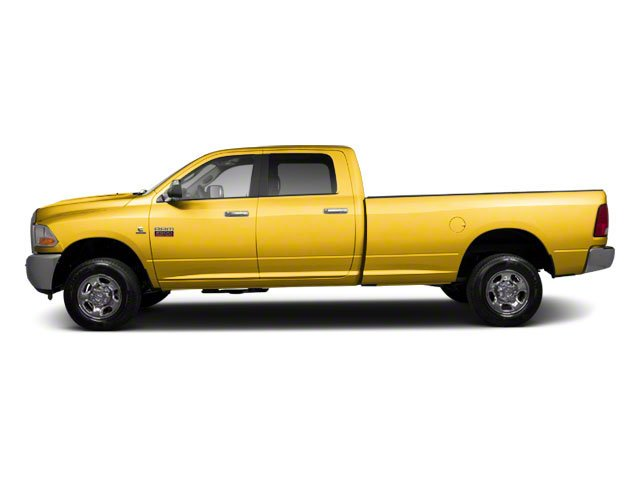 Case Construction Yellow 2012 Ram Truck 2500 Pictures 2500 Crew Cab ST 4WD photos side view