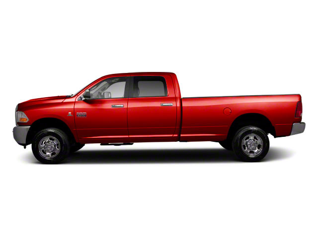 Flame Red 2012 Ram Truck 2500 Pictures 2500 Crew Cab ST 4WD photos side view