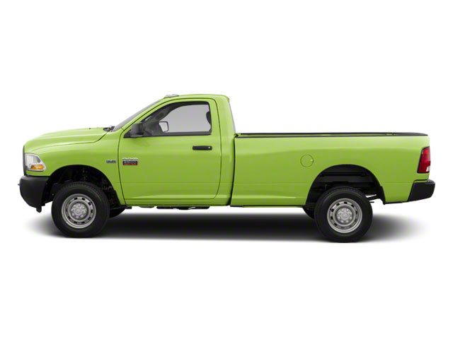 Hills Green 2012 Ram Truck 2500 Pictures 2500 Regular Cab SLT 4WD photos side view