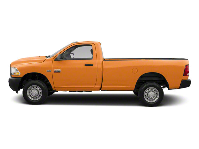 Omaha Orange 2012 Ram Truck 2500 Pictures 2500 Regular Cab SLT 4WD photos side view
