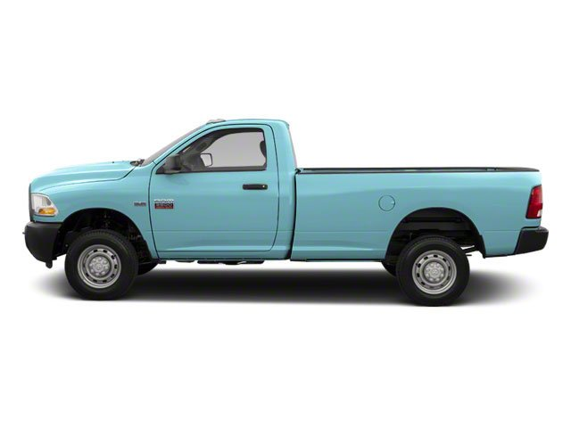 Robin Egg Blue 2012 Ram Truck 2500 Pictures 2500 Regular Cab SLT 4WD photos side view