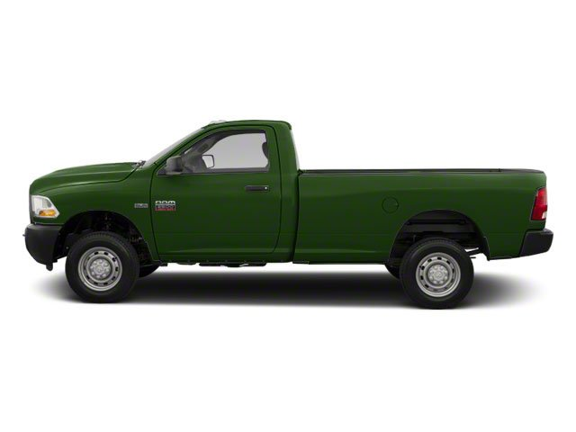 D T Green 2012 Ram Truck 2500 Pictures 2500 Regular Cab SLT 4WD photos side view