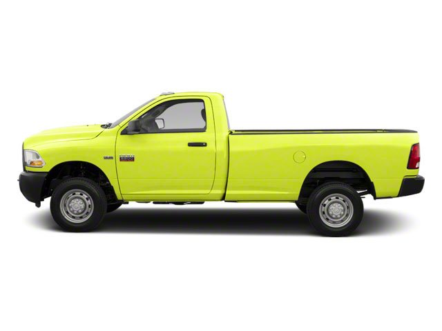 National Fire Safety Lime Yellow 2012 Ram Truck 2500 Pictures 2500 Regular Cab SLT 4WD photos side view