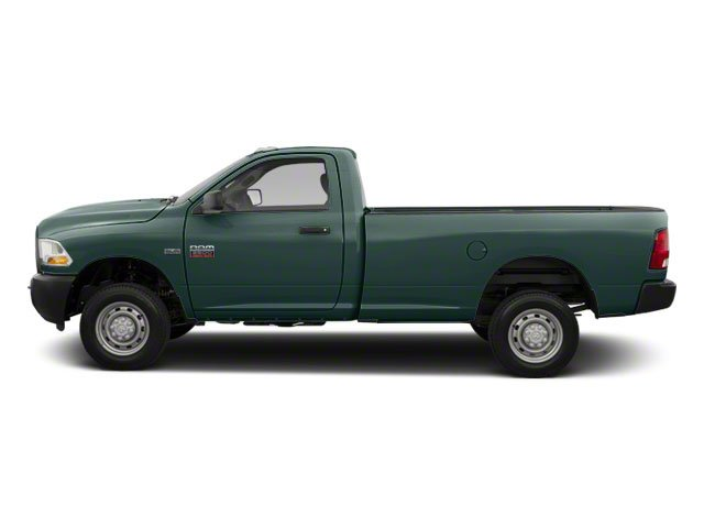Timberline Green Pearl 2012 Ram Truck 2500 Pictures 2500 Regular Cab SLT 4WD photos side view