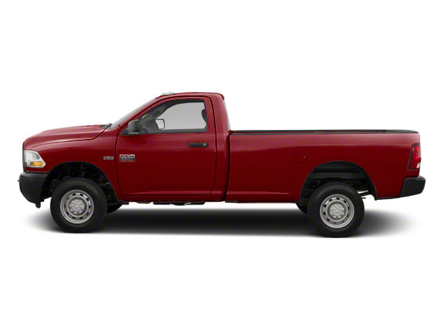Deep Cherry Red Crystal Pearl 2012 Ram Truck 2500 Pictures 2500 Regular Cab SLT 4WD photos side view