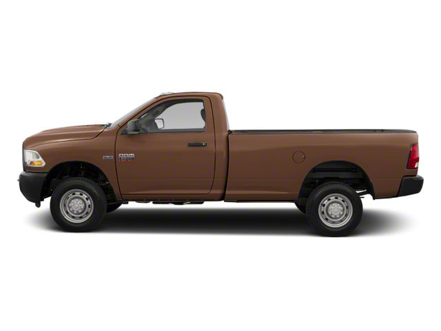 Saddle Brown Pearl 2012 Ram Truck 2500 Pictures 2500 Regular Cab SLT 4WD photos side view