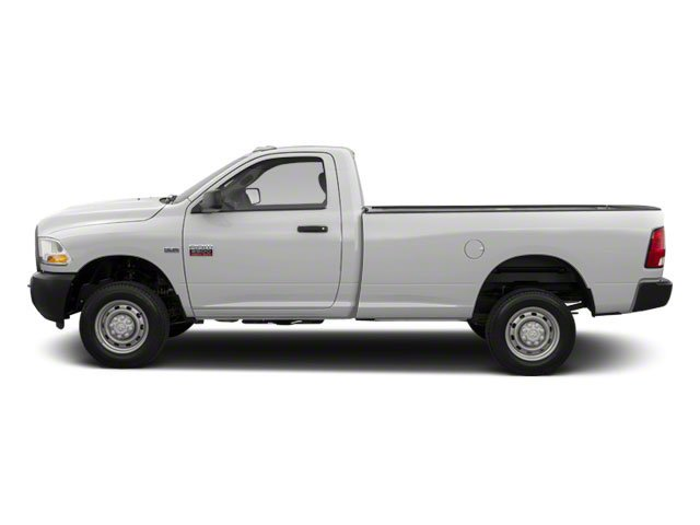 Bright White 2012 Ram Truck 2500 Pictures 2500 Regular Cab Outdoorsman 4WD photos side view