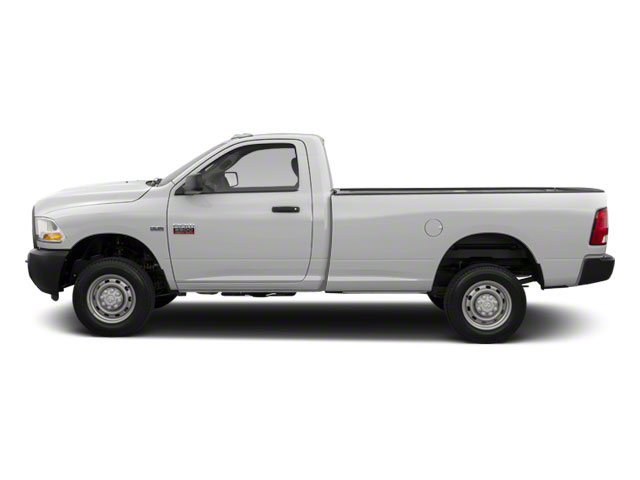 Bright White 2012 Ram Truck 2500 Pictures 2500 Regular Cab SLT 4WD photos side view