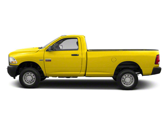 Detonator Yellow 2012 Ram Truck 2500 Pictures 2500 Regular Cab SLT 4WD photos side view