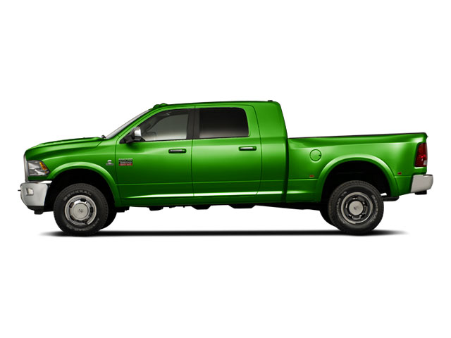 Hills Green 2012 Ram Truck 3500 Pictures 3500 Mega Cab SLT 4WD photos side view
