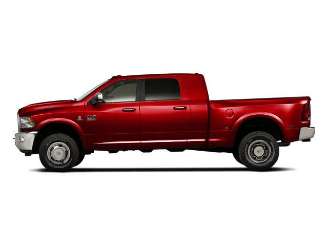 Case IH Red 2012 Ram Truck 3500 Pictures 3500 Mega Cab SLT 4WD photos side view