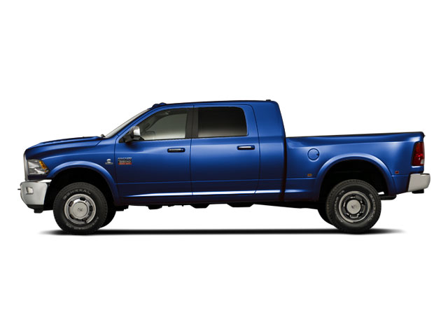 New Holland Blue 2012 Ram Truck 3500 Pictures 3500 Mega Cab SLT 4WD photos side view