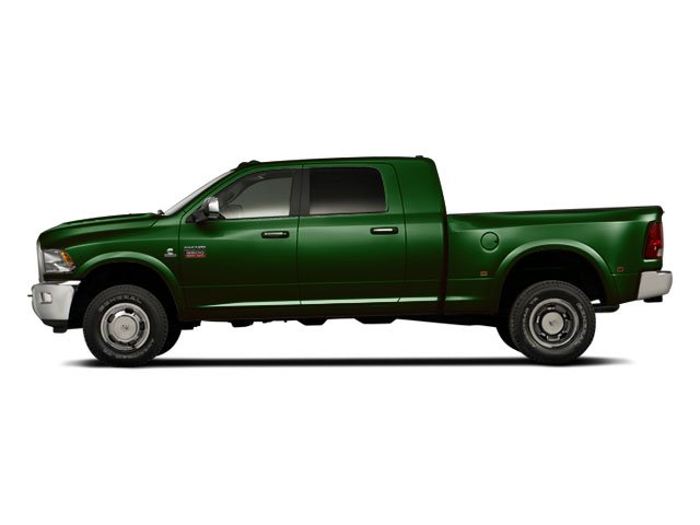 DT Green 2012 Ram Truck 3500 Pictures 3500 Mega Cab SLT 4WD photos side view