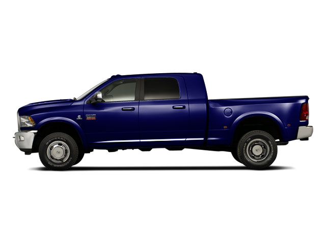 Midnight Blue Pearl 2012 Ram Truck 3500 Pictures 3500 Mega Cab SLT 4WD photos side view