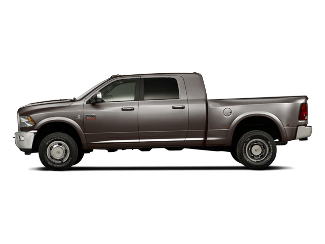Mineral Gray Metallic 2012 Ram Truck 3500 Pictures 3500 Mega Cab Limited 2WD photos side view