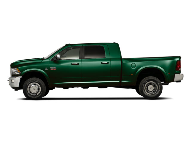 Timberline Green Pearl 2012 Ram Truck 3500 Pictures 3500 Mega Cab SLT 4WD photos side view
