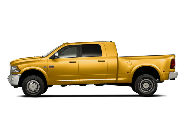 School Bus Yellow 2012 Ram Truck 3500 Pictures 3500 Mega Cab SLT 4WD photos side view