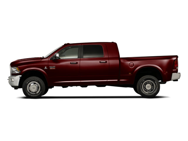 Deep Molten Red Pearl 2012 Ram Truck 3500 Pictures 3500 Mega Cab SLT 4WD photos side view