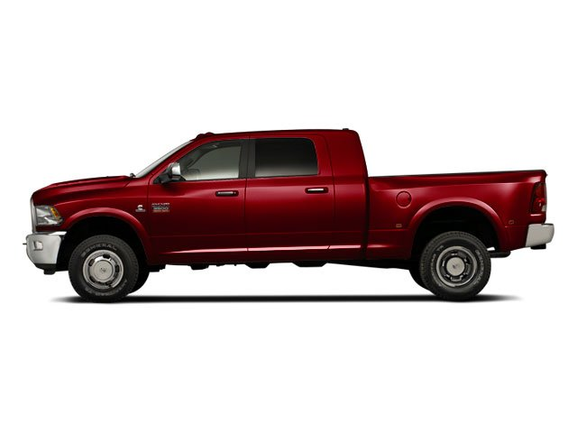 Deep Cherry Red Crystal Pearl 2012 Ram Truck 3500 Pictures 3500 Mega Cab SLT 4WD photos side view