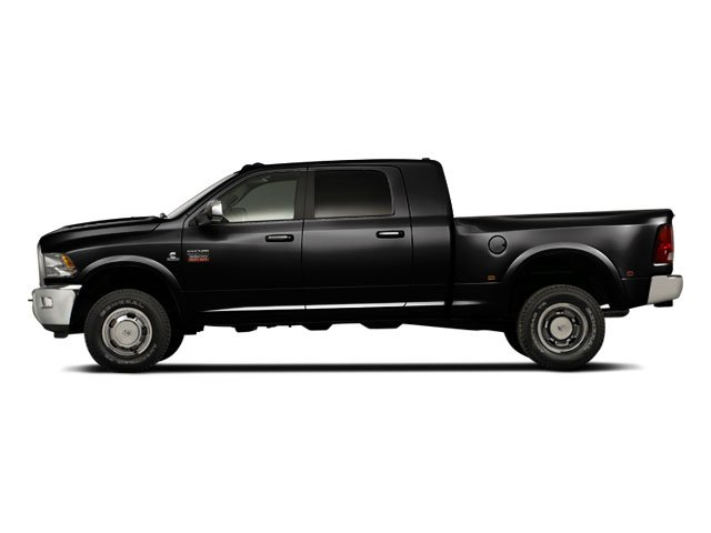 Black 2012 Ram Truck 3500 Pictures 3500 Mega Cab Limited 2WD photos side view