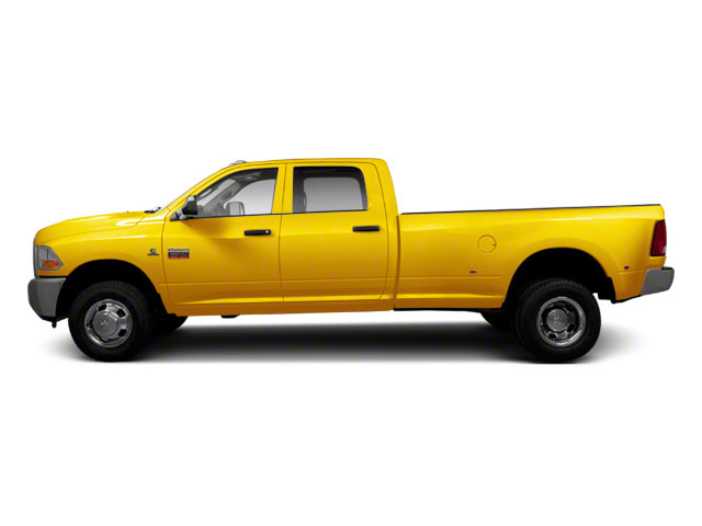 Yellow 2012 Ram Truck 3500 Pictures 3500 Crew Cab SLT 2WD photos side view