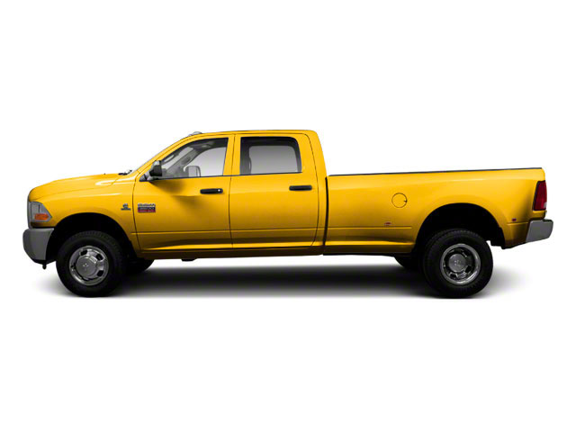 Case Construction Yellow 2012 Ram Truck 3500 Pictures 3500 Crew Cab SLT 2WD photos side view