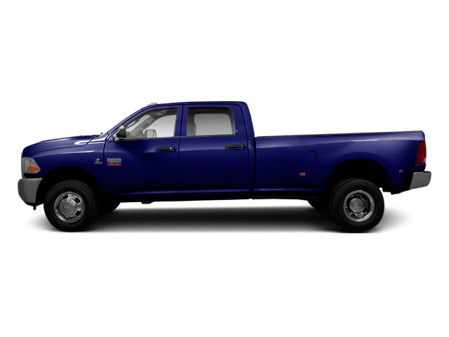 Midnight Blue Pearl 2012 Ram Truck 3500 Pictures 3500 Crew Cab SLT 2WD photos side view