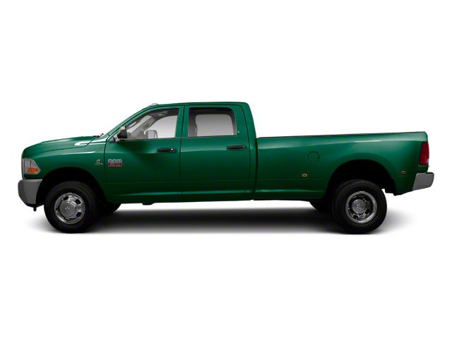 Timberline Green Pearl 2012 Ram Truck 3500 Pictures 3500 Crew Cab SLT 2WD photos side view