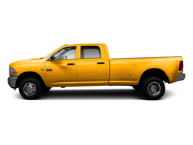 School Bus Yellow 2012 Ram Truck 3500 Pictures 3500 Crew Cab SLT 2WD photos side view