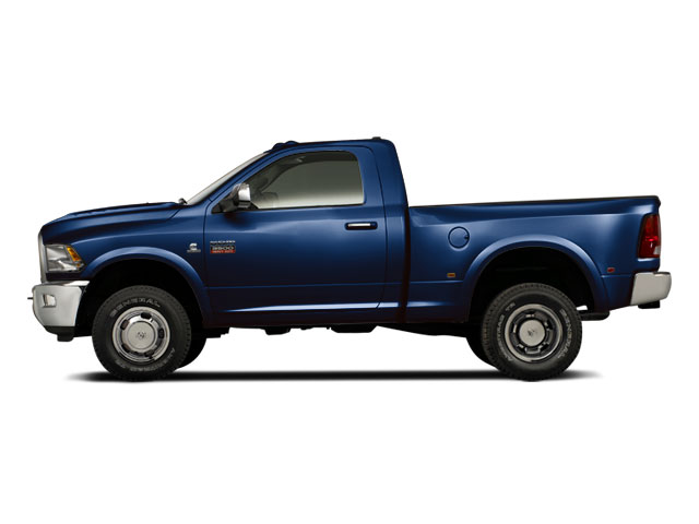 True Blue Pearl Coat 2012 Ram Truck 3500 Pictures 3500 Regular Cab SLT 2WD photos side view