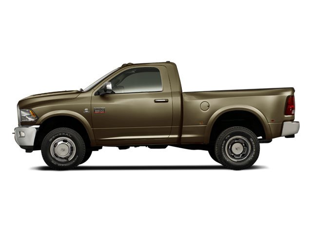 Sagebrush Pearl 2012 Ram Truck 3500 Pictures 3500 Regular Cab SLT 2WD photos side view