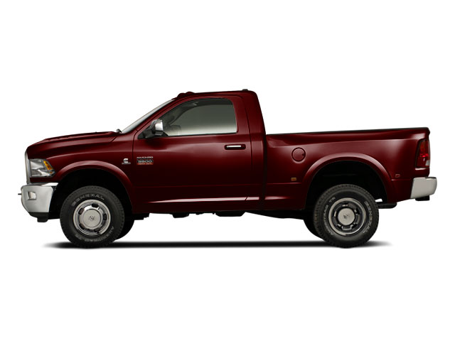 Deep Molten Red Pearl 2012 Ram Truck 3500 Pictures 3500 Regular Cab SLT 2WD photos side view